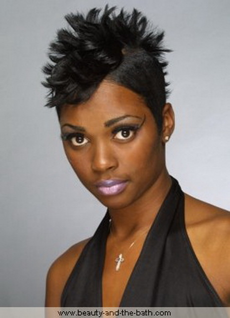 Hairstyles For Short Hair Mohawk : mohawk hairstyles for black women with weave mohawk hairstyles
