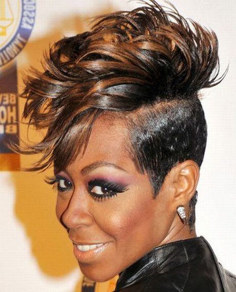 Hairstyles For Short Hair Mohawk : Short Mohawk Hairstyles for Black Women. Fantastic New Short Mohawk ...