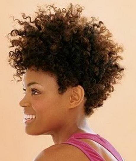 Short Natural Hair Styles For Black Women
