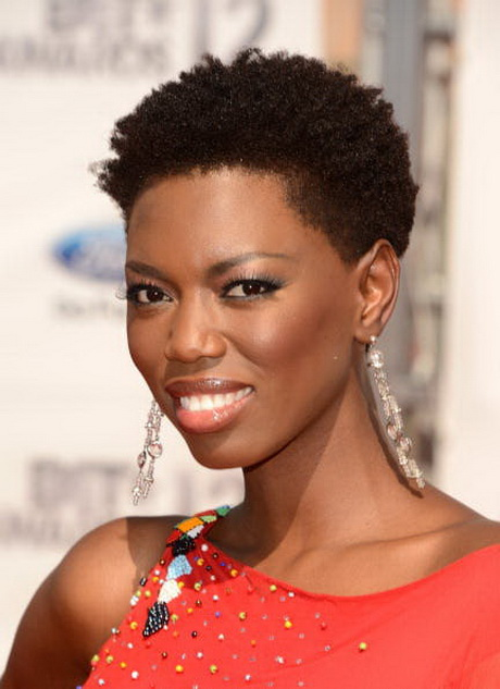 Short natural hair styles