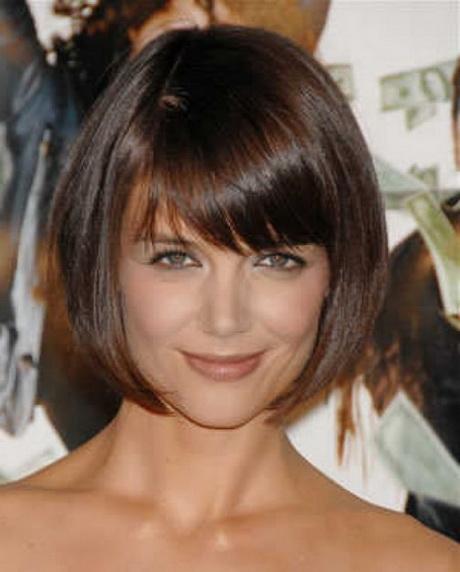 Short or medium length hairstyles