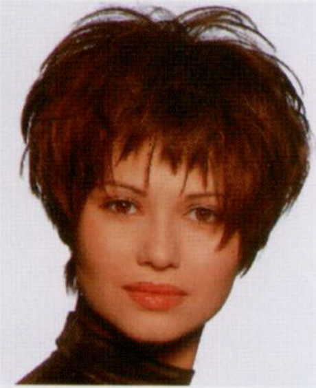 Pretty Short Permed Hairstyles