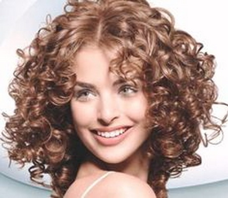 Medium Short Hair Perm