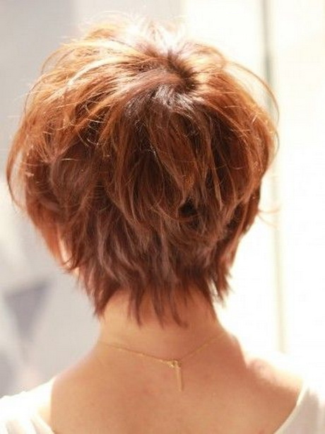 Back View Of Pixie Haircut | Japanese Hairstyle for summer back view ...