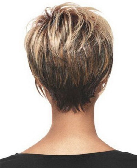 Short Hair Back Of Head View short hairstyles for thin hair back view ...
