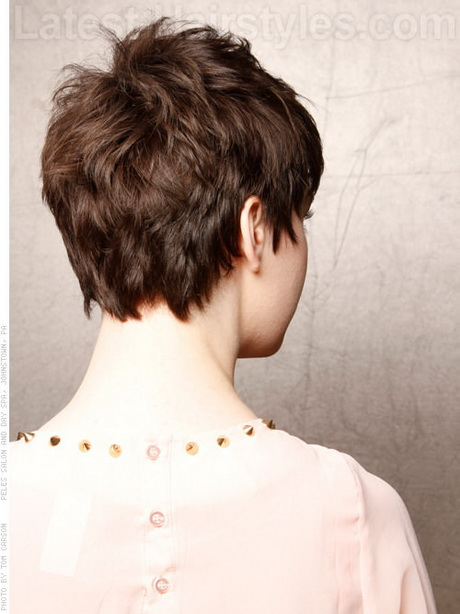 Pics Photos - Back Of Head Hairstyle Photos Short Hairstyle 2013