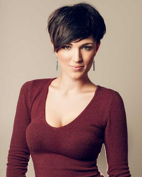 Short pixie hairstyles 2014