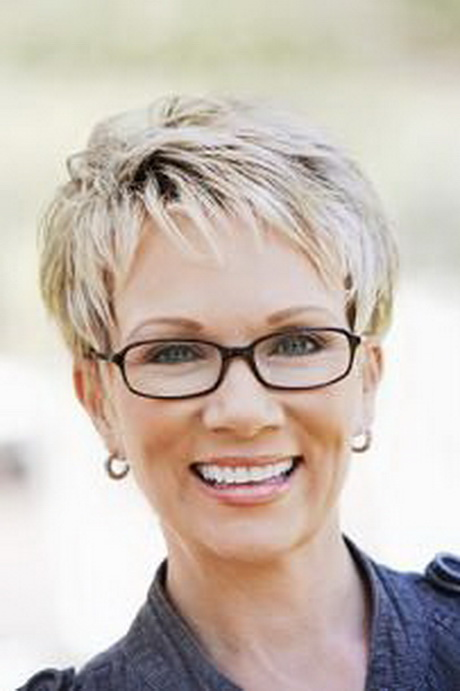 ... Hairstyles Women Over 50 With Glasses. on plus size short hairstyles