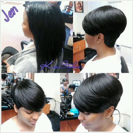 Pin Short Quick Weave Hairstyles â Short Quick Weaves Hair Styles on ...