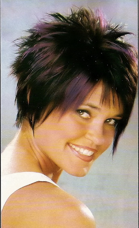 short razor cut hairstyles : short hairstyles photos funky short hairstyles short funky hairstyles ...