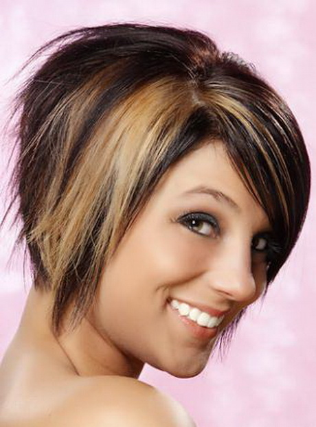 razor cut short hairstyles : razor cut hairstyle has a concave shape where the back is cut in short ...