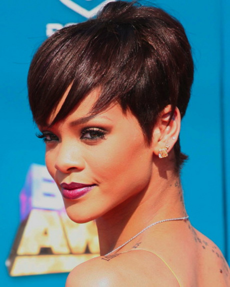 short and sassy hairstyles with bangs for black women