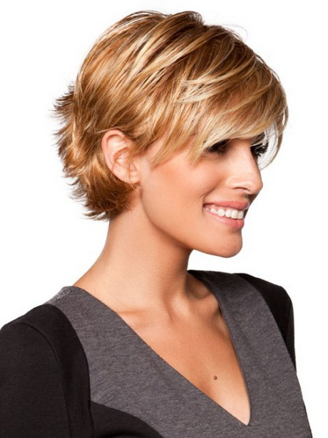 Hairstyle Sassy Short Haircuts For Fine Hair