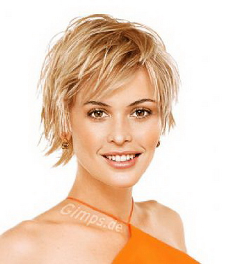 short layered hairstyles 2014 women short layered shaggy
