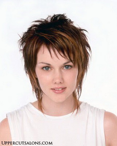 Ask your stylist to cut short shaggy layers throughout your hair. quot ...