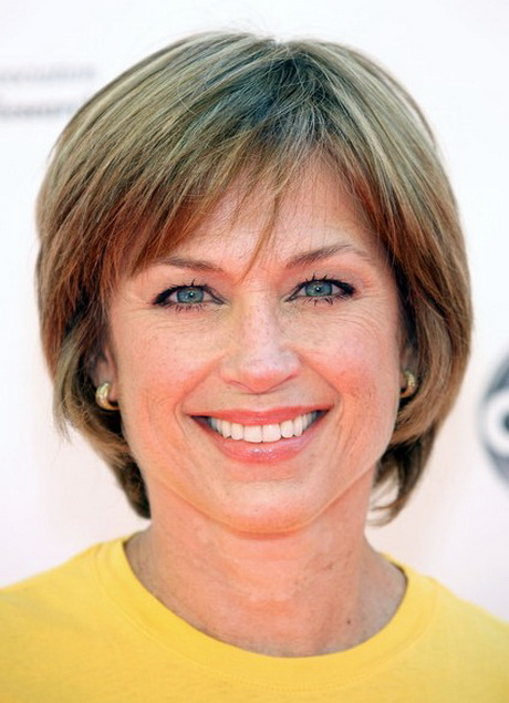 Gallery of short shaggy hairstyles for women over 50