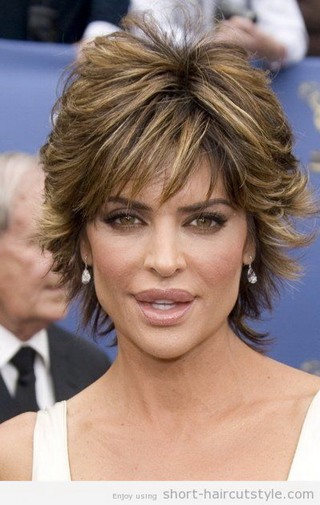 beautiful short shaggy hairstyles for women over 50 short