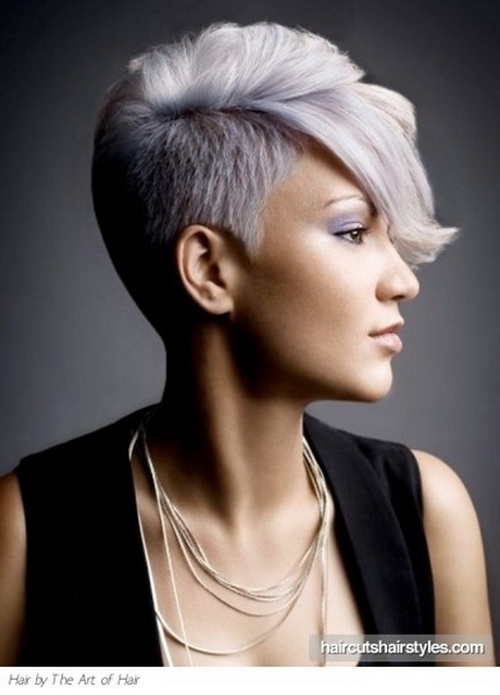 Funky Shaved Side Hairstyles for Womens in Spring 2011 Hairstyles ...