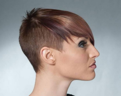 Wish women shaved hairstyle branch