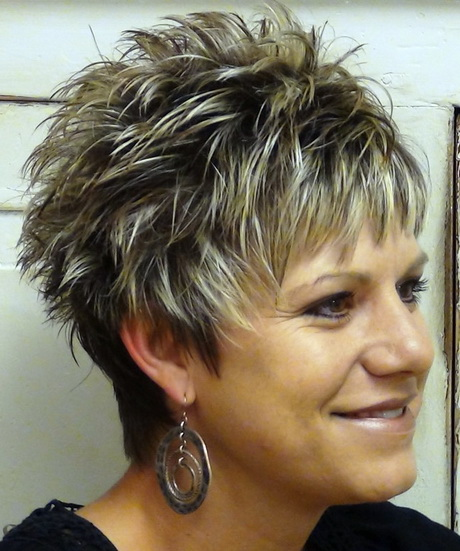 Short Spiky Hairstyles For Woman : Short Spikey Hairstyles For Women