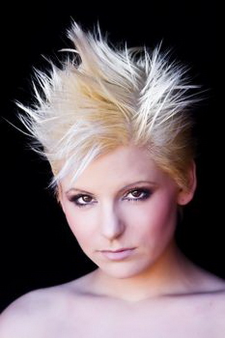 short spikey hairstyles for women over 40 short spikey