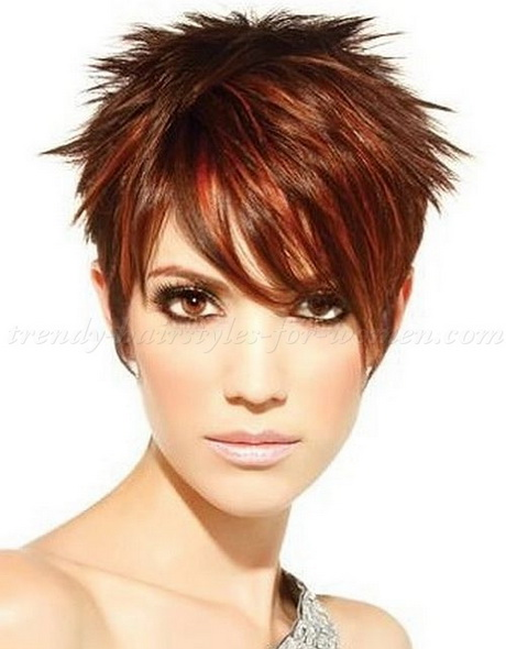 Images of Short Spiky Hairstyles for Women