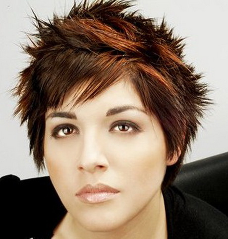 Pics Photos - Short Spiky Hairstyles For Women Over 50 Short Spiky ...