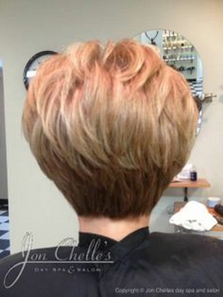Short Haircuts Back View Stacked – Hairframe
