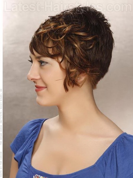 Short Stacked Bob Hairstyles Curly Hair