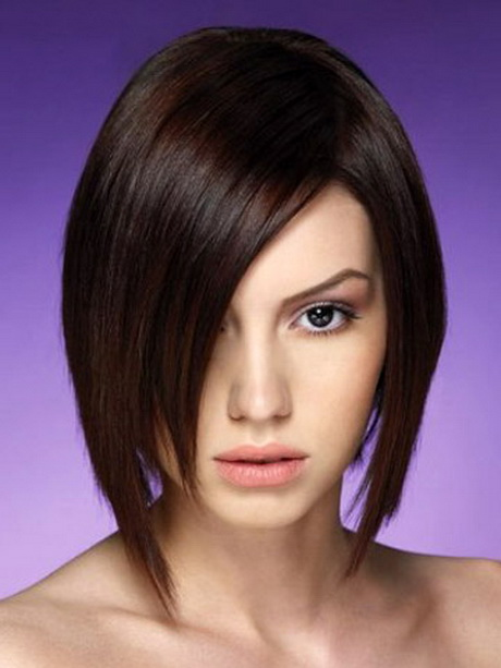 Hairstyles For Short Hair Straight : Short straight hair styles
