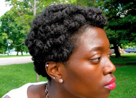 short styles for natural hair