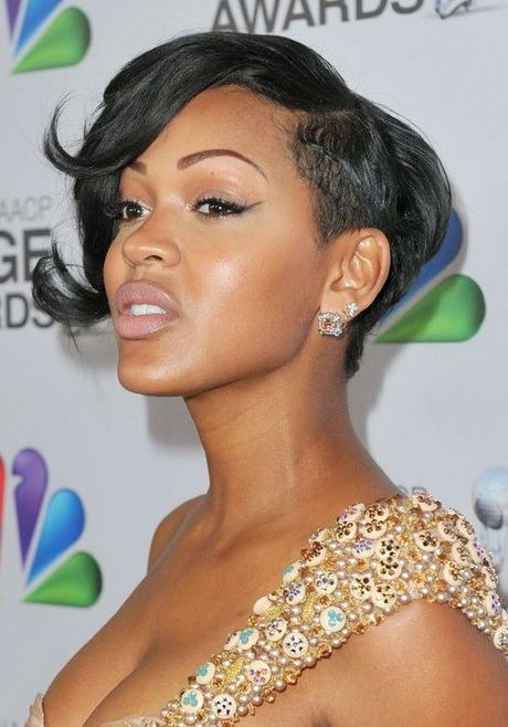 ... Women Meagan Good's Short Hairstyles: Trendy Haircut for Black Women
