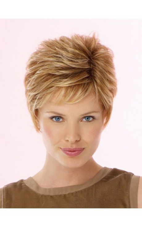 Ladies Wigs Short Textured Hairstyle Synthetic Lace Front Wig Are