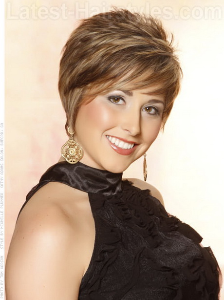 short textured hair styles. Hair Style: Â This is modern short shape ...