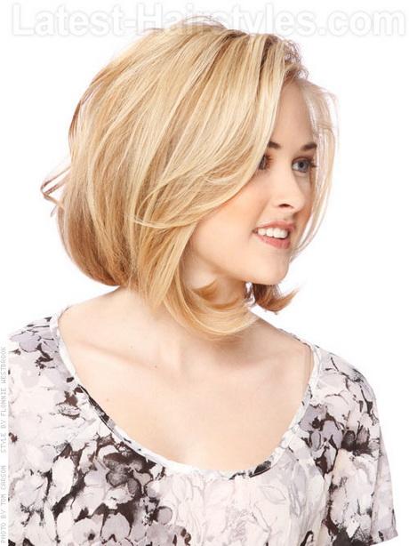 short to medium length hairstyles for fine hair