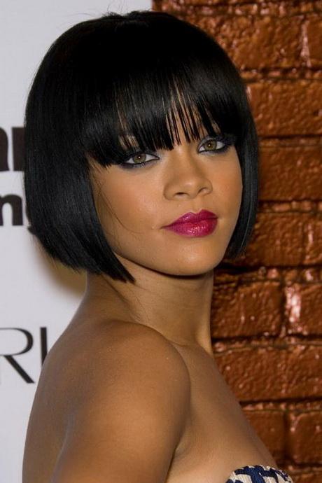Black Women with Short Bob Hairstyles