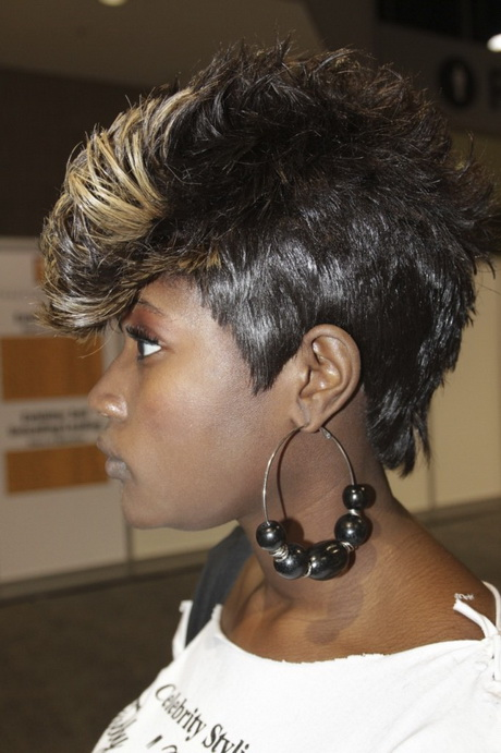 ... Natural Hair With Shaved Sides. on sew in bob weave hairstyles mohawks