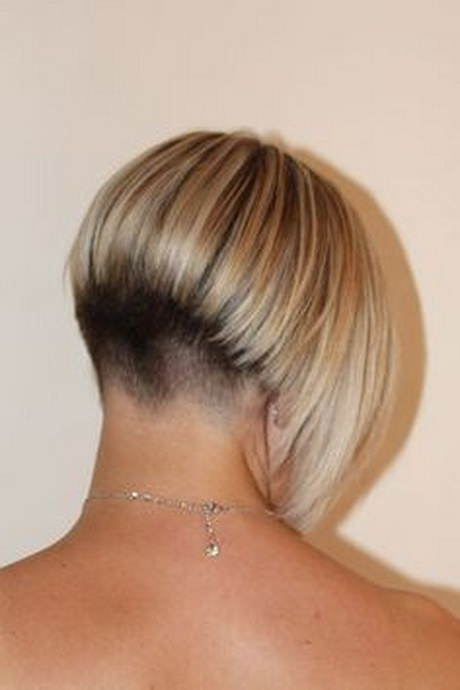 Short Wedge Haircut Back View