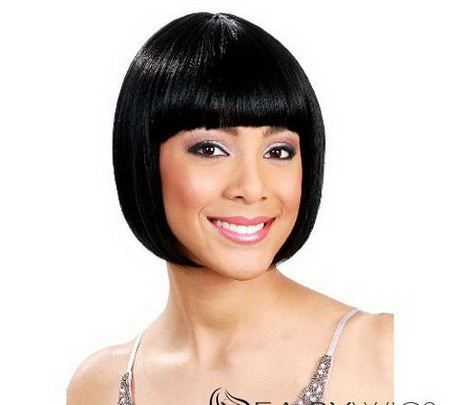 Women's Short Hair Wig light brown and blonde synthetic-wigs women ...