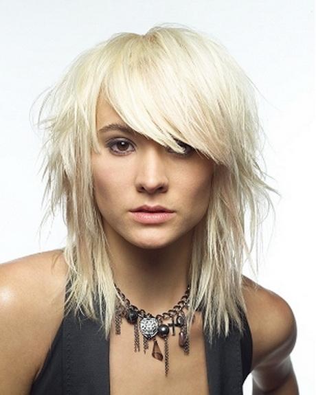 medium length hairstyles choppy ends 46966122 …