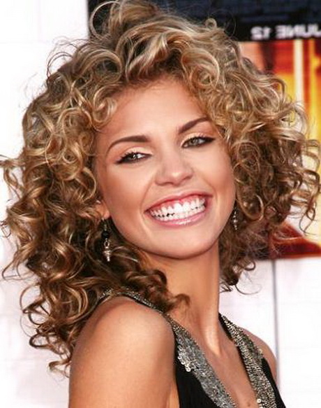 Medium length curly hair styles haircuts and styles