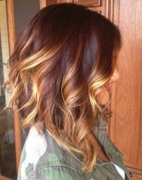 ... hair with blond highlights ombre hair medium length hairstyles 2015
