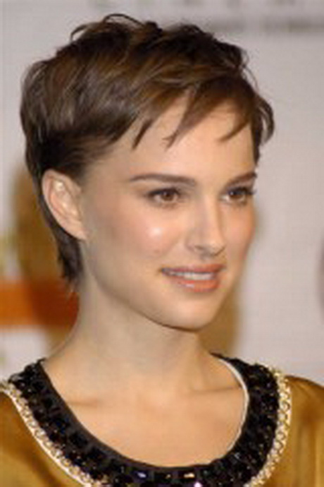 Short hairstyles vary and different styles suit different shaped faces