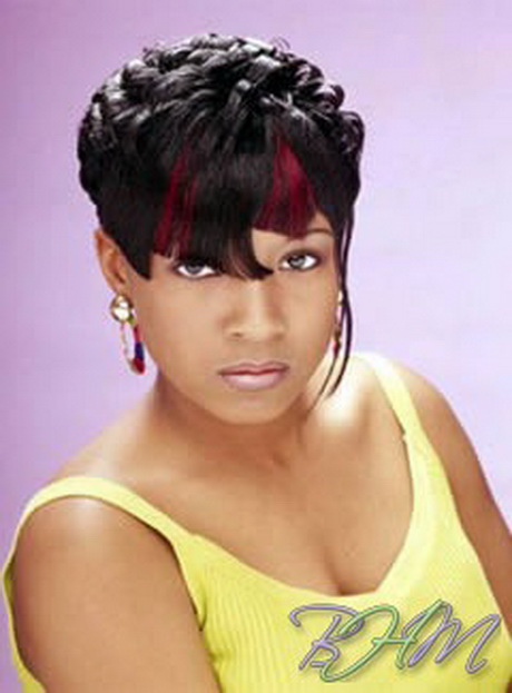 Cute Hairstyles For Black Peoples Hair : Show short hair styles