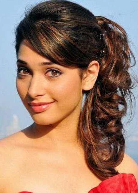 One side hairstyles for prom