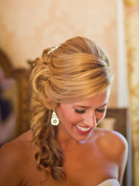 side swept bridal hairstyles
