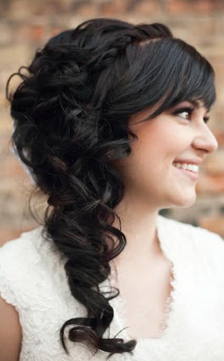 single twist hairstyle : Beautiful Side-Swept Bridal Hair @ Wedding-Day-BlissWedding-Day-Bliss