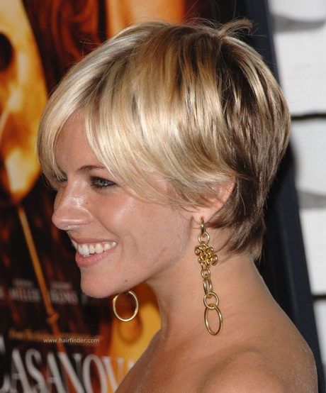 Sienna Miller Hair Cut