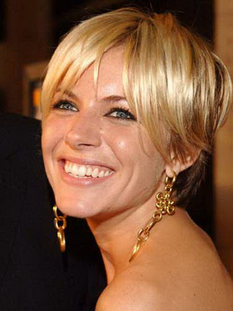 Hair Style Especially Blonde Short Hair Cuts With Image Sienna Miller