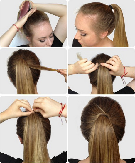 simple hairstyles for long hair step by step. Black Bedroom Furniture Sets. Home Design Ideas